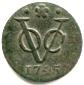 Dutch East India Company (VOC) copper 1 Duit