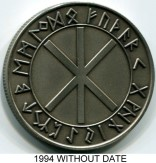Wikingland 10 Wiking Mark (1994), without date Elder Furhark Runic